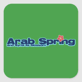 Charity project: Syria Revolution Arab Spring Sticker
