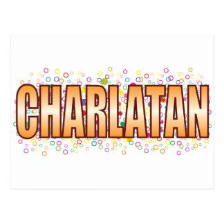 Charlatan Bubble Tag Postcard