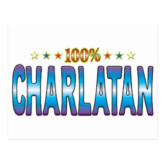 Charlatan Star Tag v2 Post Card