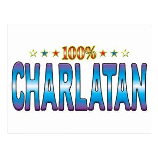 Charlatan Star Tag v2 Postcard