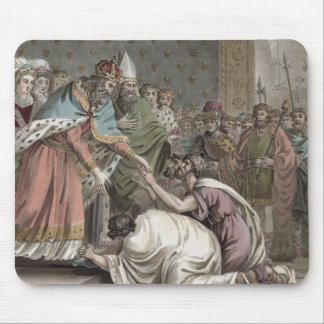 Charlemagne (742-814) Receives the Ambassadors fro Mouse Pad