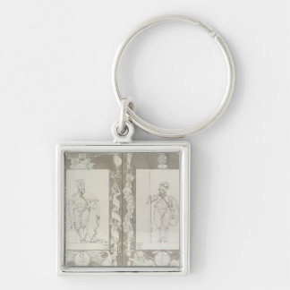 Charlemagne  and Heymon, 1804-5 Key Ring