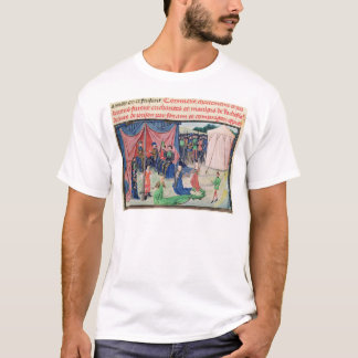 Charlemagne and his barons being enchanted T-Shirt