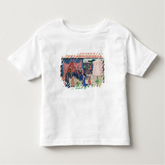 Charlemagne and his barons being enchanted toddler T-Shirt