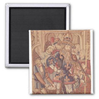 Charlemagne  Tournai Workshop Magnet