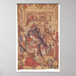 Charlemagne  Tournai Workshop Poster