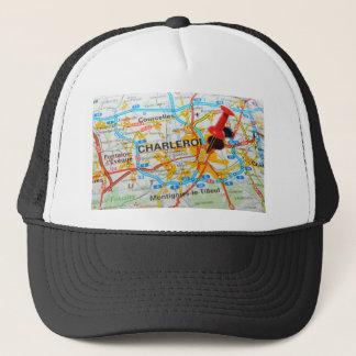 Charleroi, Belgium Trucker Hat