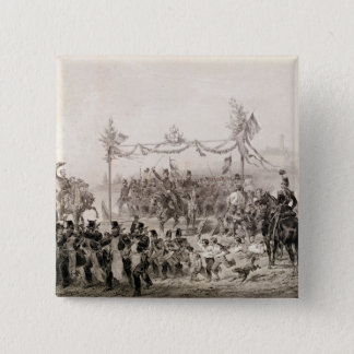 Charles-Albert I 15 Cm Square Badge