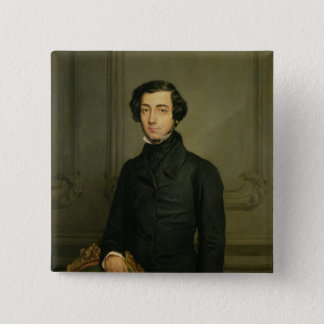 Charles-Alexis-Henri Clerel de Tocqueville  1850 15 Cm Square Badge