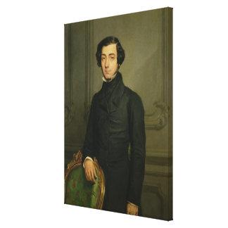 Charles-Alexis-Henri Clerel de Tocqueville  1850 Canvas Print