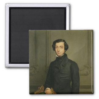 Charles-Alexis-Henri Clerel de Tocqueville  1850 Magnet