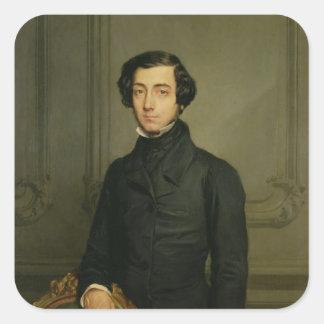 Charles-Alexis-Henri Clerel de Tocqueville  1850 Square Sticker