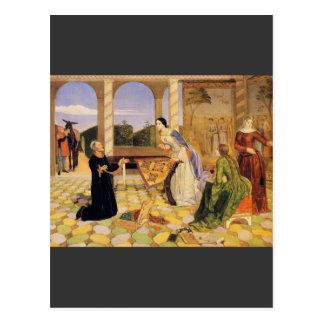 Charles Allston Collins - Berengarias Alarm for th Postcard