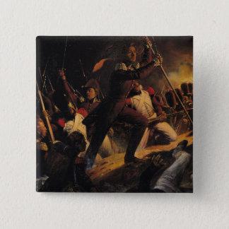 Charles-Amedee-Albert de Savoie 15 Cm Square Badge