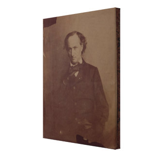 Charles Baudelaire (1820-1867), French poet, portr Gallery Wrap Canvas