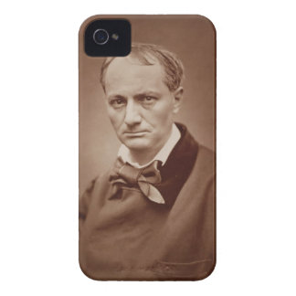 Charles Baudelaire (1821-67), French poet, portrai iPhone 4 Case-Mate Case