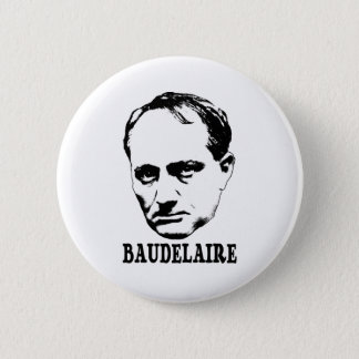 Charles Baudelaire 6 Cm Round Badge