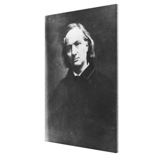 Charles Baudelaire Stretched Canvas Print