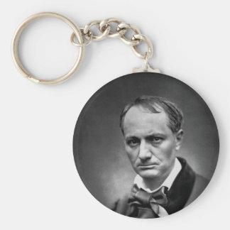 Charles Baudelaire - Vintage Photo 1878 Keychain