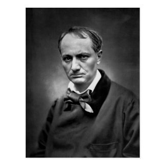 Charles Baudelaire - Vintage Photo 1878 Postcard