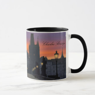 Charles Bridge 11 oz. Ringer Mug