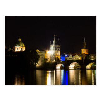 Charles Bridge and River Vltava Postcard