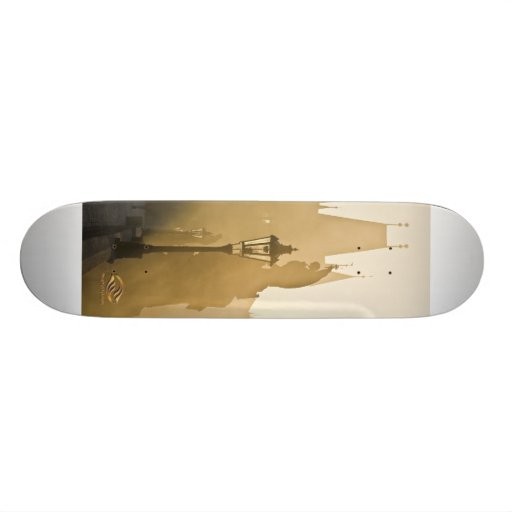 Charles Bridge Prague Morning Skateboard