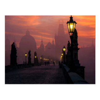Charles Bridge Prague Postcard