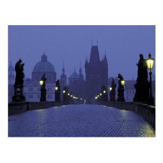 Charles Bridge - Prague Postcard