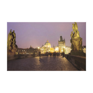 Charles Bridge, Prague souvenir photo Canvas Print