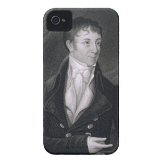 Charles Brockden Brown (1771-1810) engraved by Joh iPhone 4 Case-Mate Cases