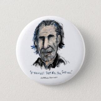 Charles Bukowski 6 Cm Round Badge