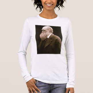 Charles Darwin (1809-82) (photo) Long Sleeve T-Shirt