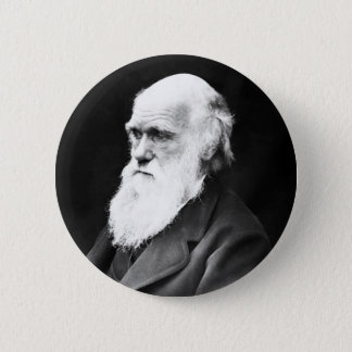Charles Darwin 6 Cm Round Badge