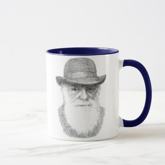 Charles Darwin - Adaptable quote Mug