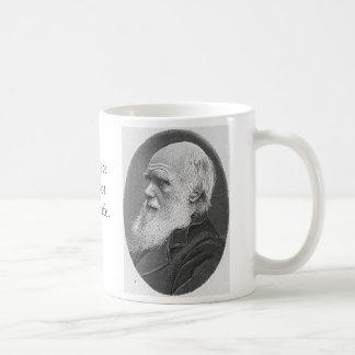 Charles Darwin Basic White Mug