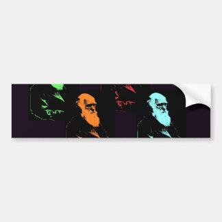 Charles Darwin Collage Bumper Sticker