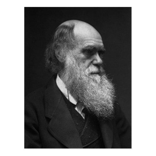Charles Darwin postcard