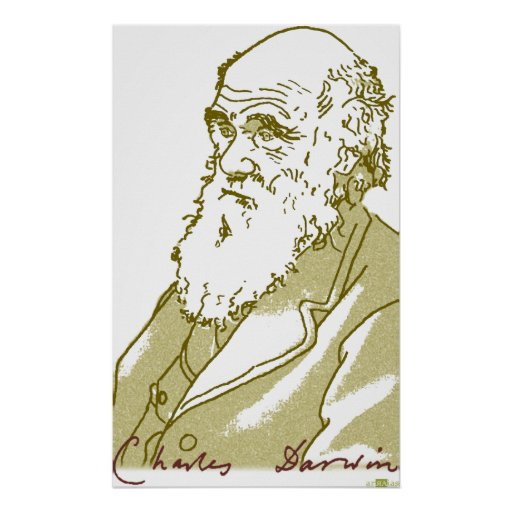 Charles Darwin, Poster