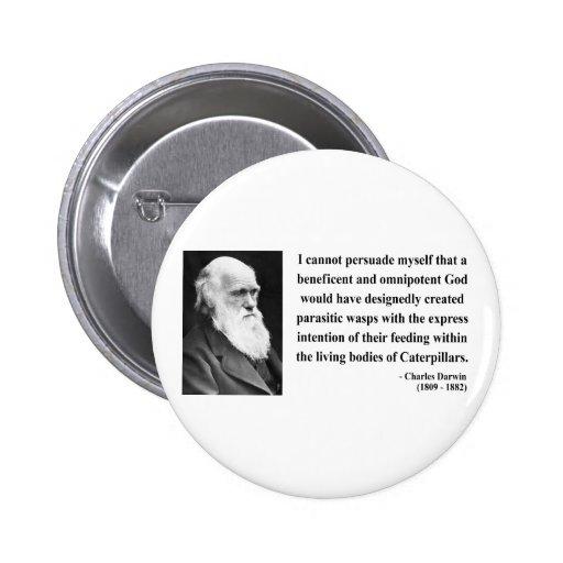 Charles Darwin Quote 2b 6 Cm Round Badge