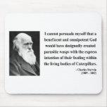 Charles Darwin Quote 2b Mousepad