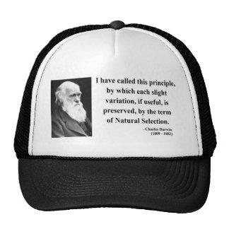 Charles Darwin Quote 6b Cap