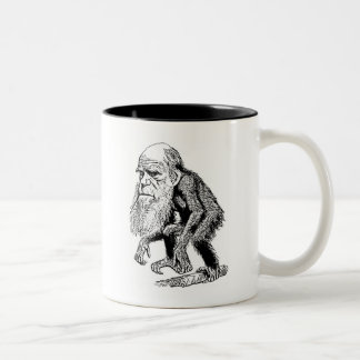 Charles Darwin Two-Tone Mug