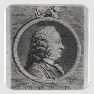 Charles de Brosses , Count of Tournai Square Sticker