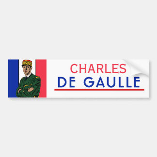 Charles de Gaulle Bumper Sticker