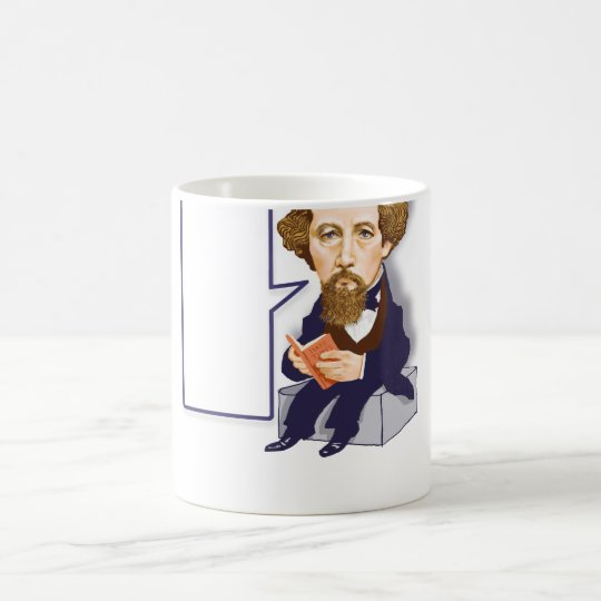 Charles Dickens (1812 – 1870) cup. Coffee Mug