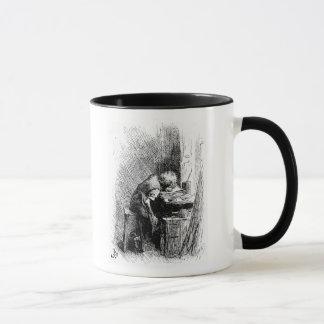 Charles Dickens at the Blacking Factory an Mug
