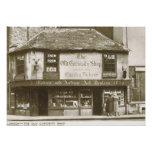 Charles Dickens Curiosity Shop, London Vintage Print