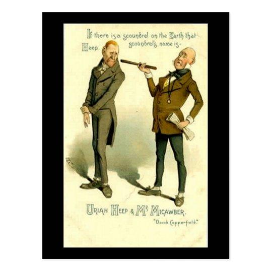 "Charles Dickens, ""David Copperfield"" Postcard"