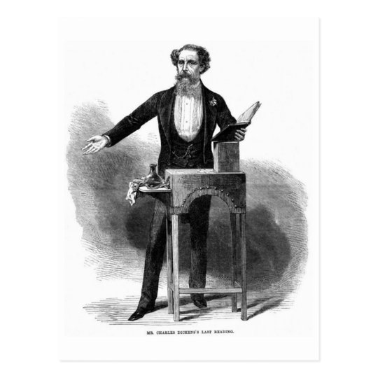 Charles Dickens' Last Reading Postcard